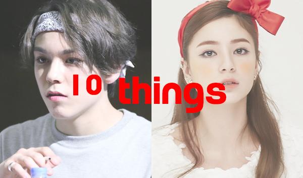 10things non korean idols