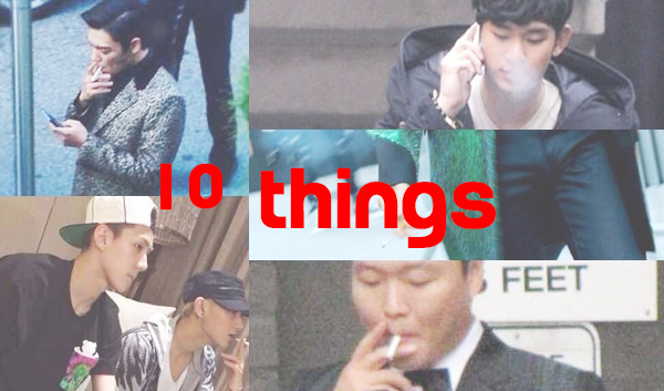 10 Things About Korean Celebrity Smokers That Might Surprise You • Kpopmap - Global Hallyu Online Media