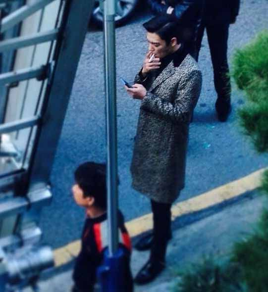 big bang top smoking