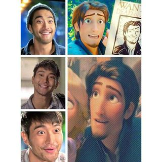 choi siwon look alike Rapunzel prince