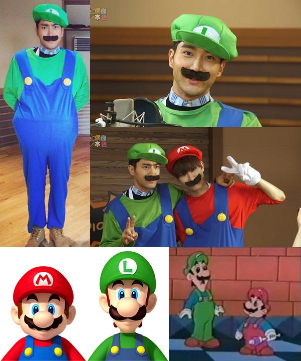 choi siwon look alike Super Mario Luig