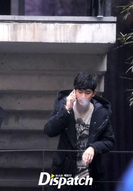 kim soo hyun smoking