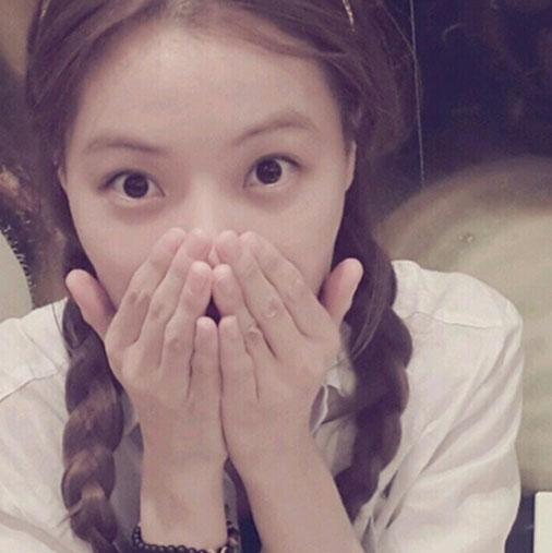 Korean Female Stars With Girly Braided Pigtails