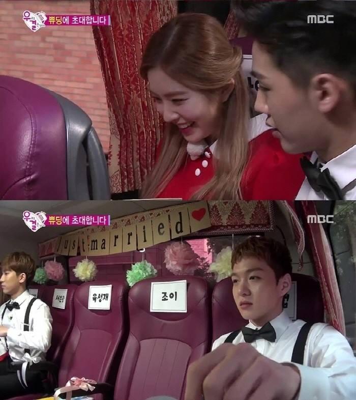 BTOB Fighting To Sit Next To Red Velvet Irene