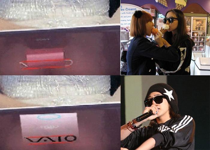 g-dragon sohee  mang bung