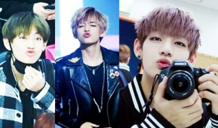 OMG BTS V Kisses Fans At BTS Fan Meeting