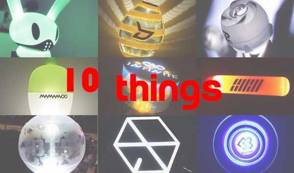 10THINGS IDOL FANDOM CHEERING STICK