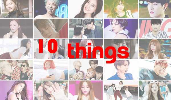 10things january kpop issues