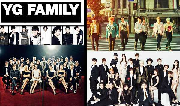 2016 plans of 10 agencies kpop