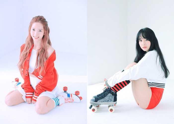 Cosmic Girls Becoming Roller Girls In Photo Cuts