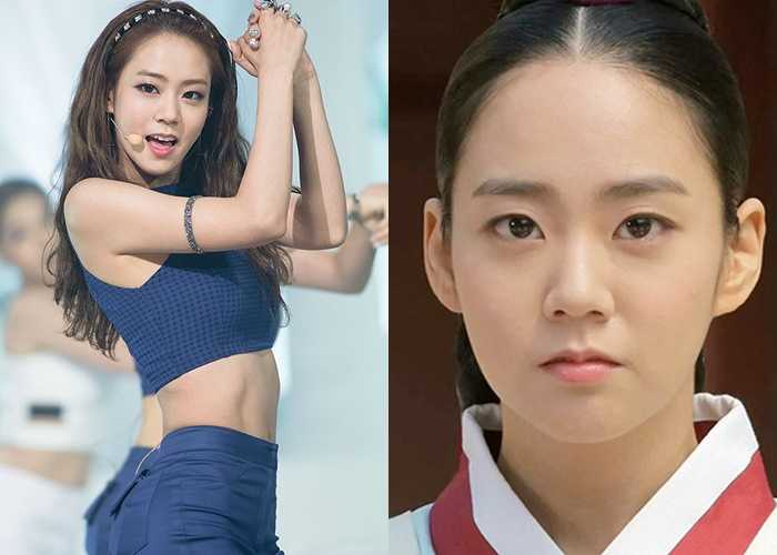 han seungyeon Former Idol girls Now Actresses