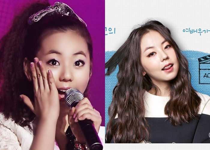sohee Former Idol girls Now Actresses