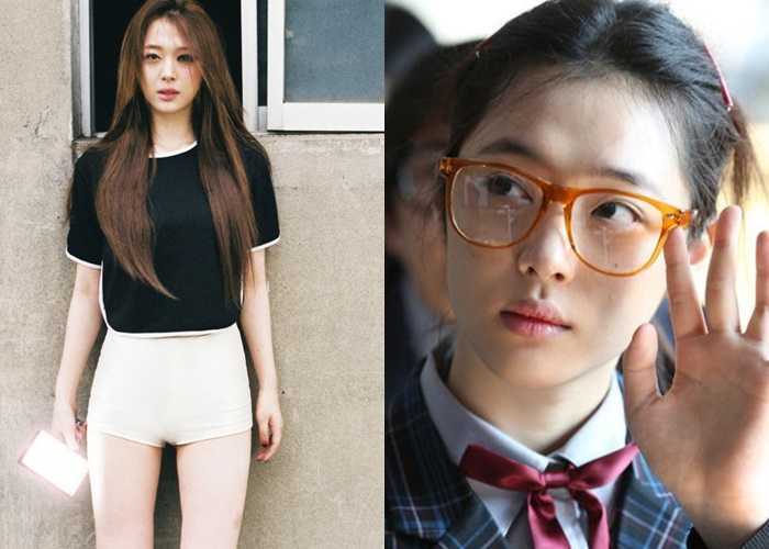 sulli Former Idol girls Now Actresses