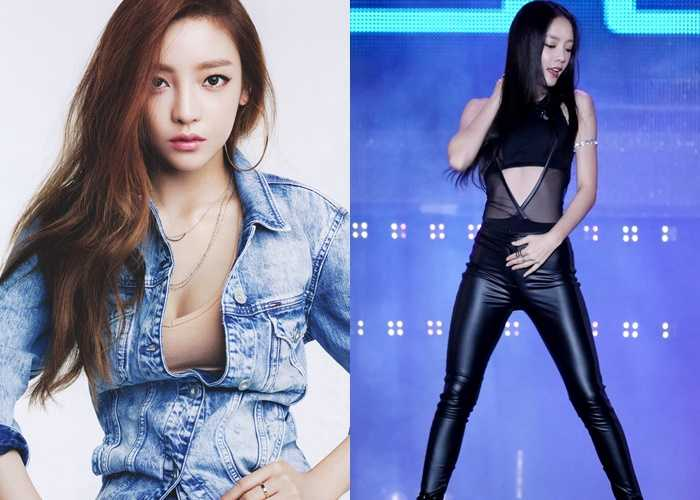 Former Idol girls Now Actresses goo hara