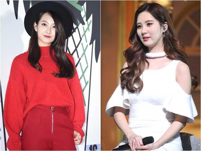 SNSD Seohyun And f(x) Victoria To MC The 30th GDA