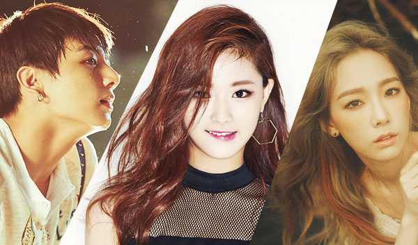 who is the hottest idol 2015