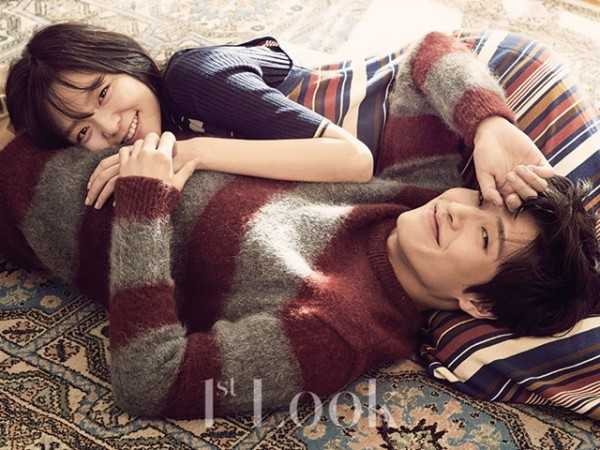 kang HaNeul lee som idol couple photo