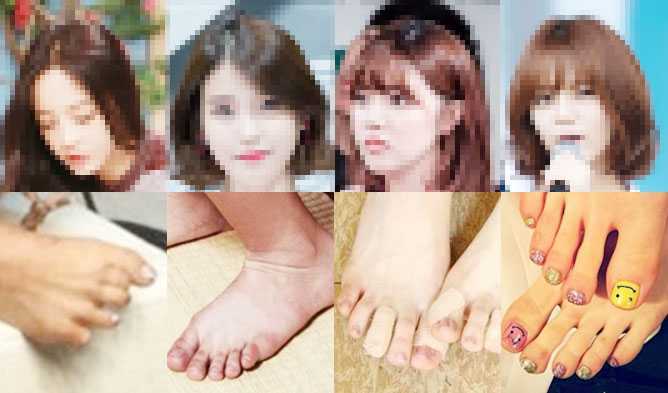 5 Of The Shockingly Ugliest Female Idol Feet Kpopmap Kpop Kdrama And Trend Stories Coverage