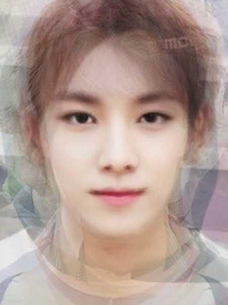 7 Of SEVENTEEN Average Faces