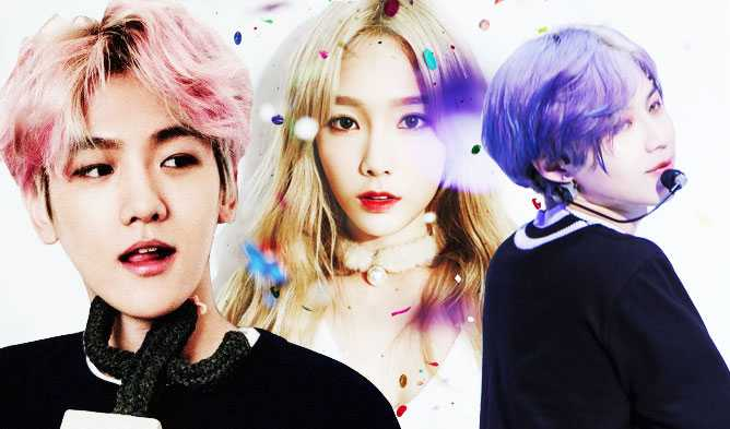 Wannabe Hair Colors Of K Idol Stars