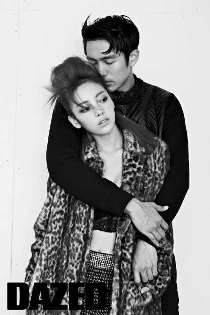 gu hara im seulong idol couple photo