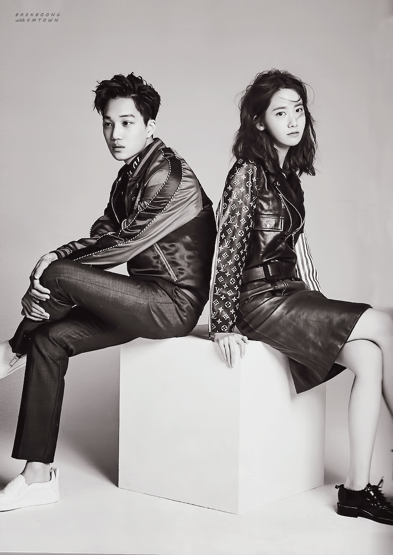 yoona kai idol couple photo