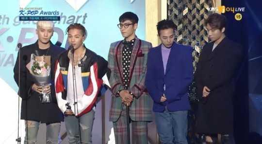 Winners Of 5th Gaon Chart K-POP Awards