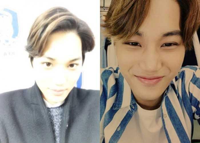 exo kai ugly selfie idol stars