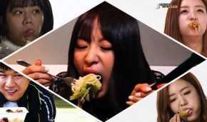 foodporn idols meokbang