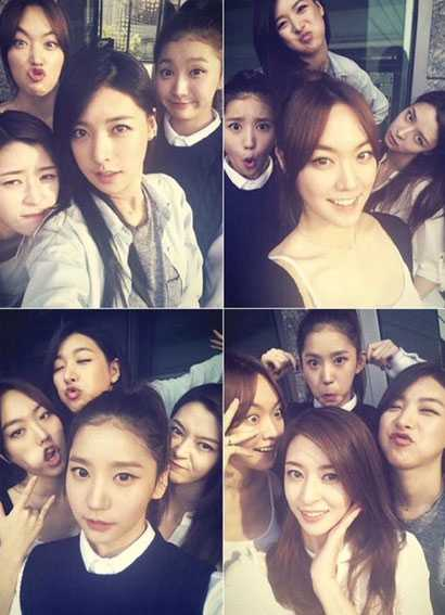 9 Of The Very Funny Girl Group Selfies