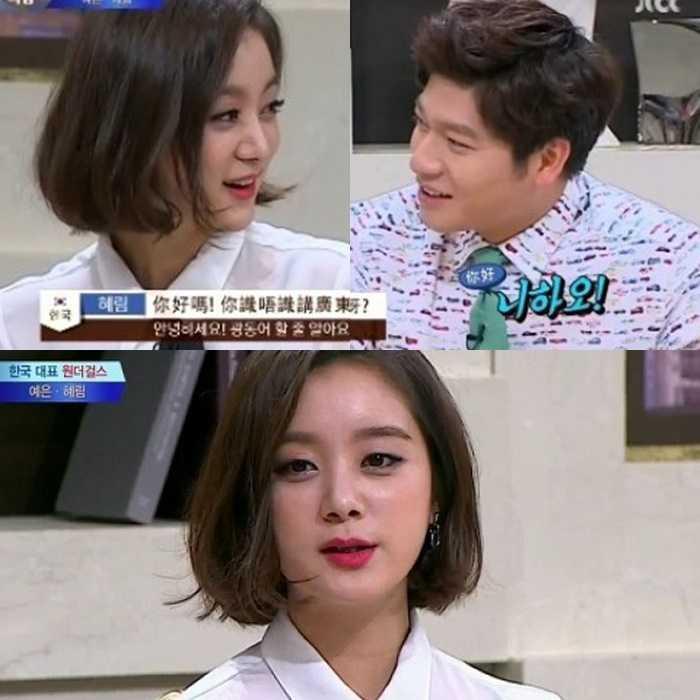hyerim wonder girls language genius idols