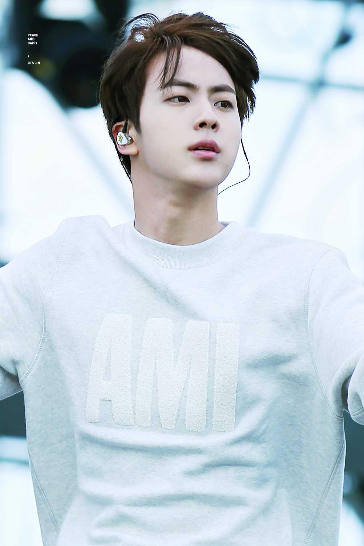 bts jin idol boys big shoulders