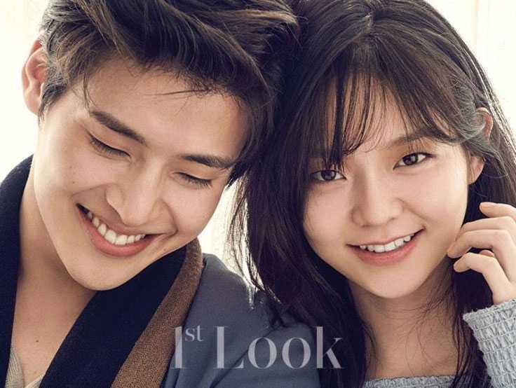 kang HaNeul lee som idol couple photo