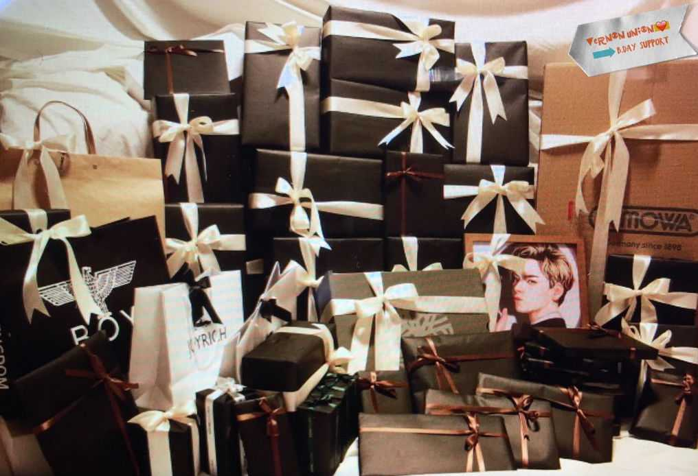 Image result for kpop idols gift