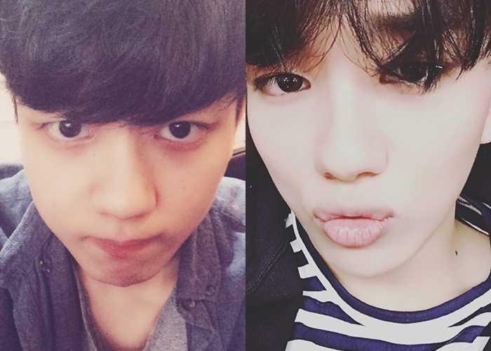 youngjae bap ugly selfies idol stars