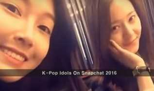 K-Pop Idols On Snapchat 2016: Usernames To Follow