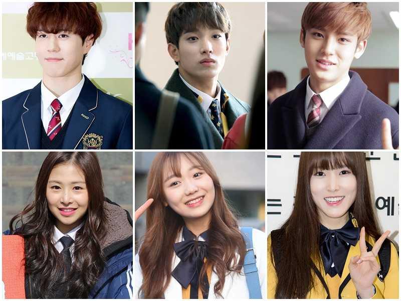 high school idols