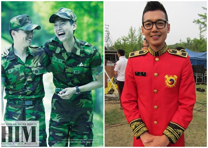 jung kyungho military uniform
