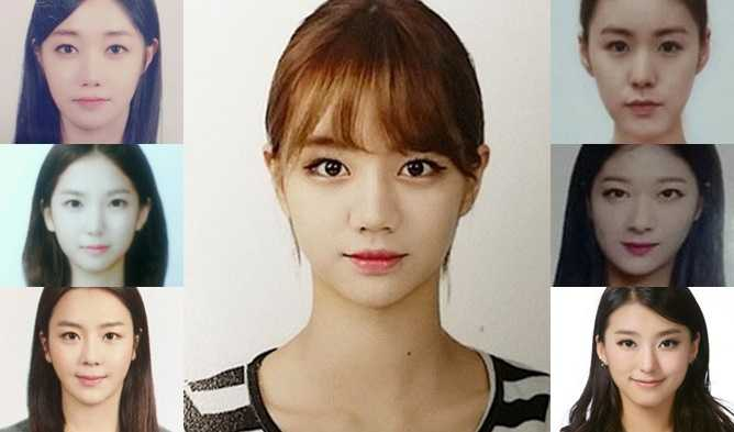 Passport Photos kpop Idol Girls, kpop idol id photos, snsd Passport Photos, sistar Passport Photos, 2ne1 Passport Photos, apink Passport Photos
