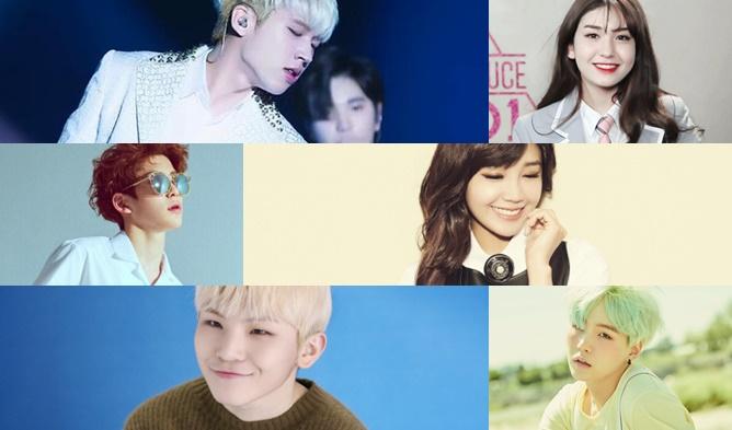 kpop comebacks april may 2016, kpop comebacks 2016, blockb comeback 2016, twice comeback 2016, seventeen comeback 2016, bts comeback 2016, nam woohyun solo debut