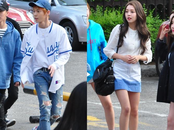 Music Bank Blast: K-Pop Idols' Couple Looks from April 29th