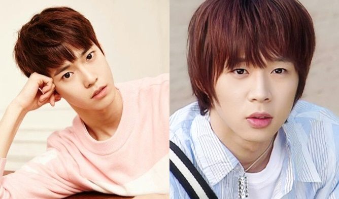 The Many Look-Alike Faces of SM NCT's DoYoung