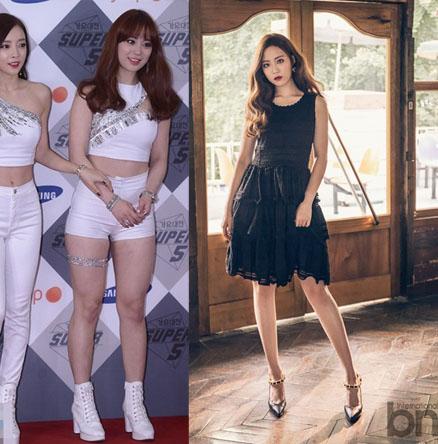 transformation, youngji solo, kara diet, youngji diet, kpop diet, diet ...