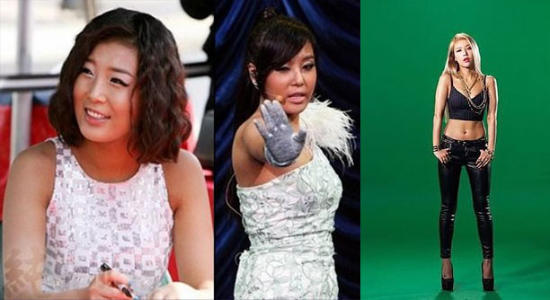 Resultat d'imatges de WONDER GIRLS YUBIN BODY BEFORE AND AFTE