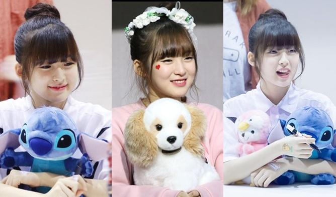 Admirable 10 K Pop Idols Setting The Short Choppy Bangs Trend Kpopmap Short Hairstyles Gunalazisus