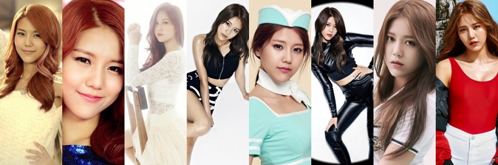 AOA, AOA profile, AOA album, AOA debut, AOA comeback, AOA before and after, yuna, youkyung, seolhyun, mina, jimin, hyejeong, choa, chanmi