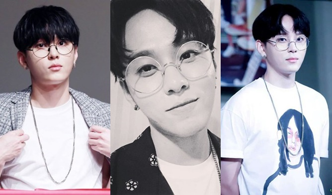 kpop, kpop male idols, kpop idols, kpop glasses, kpop idols glasses, kpop harry potter, kpop harry potter glasses, kpop round glasses, beast glasses, beast junhyung, junhyung glasses