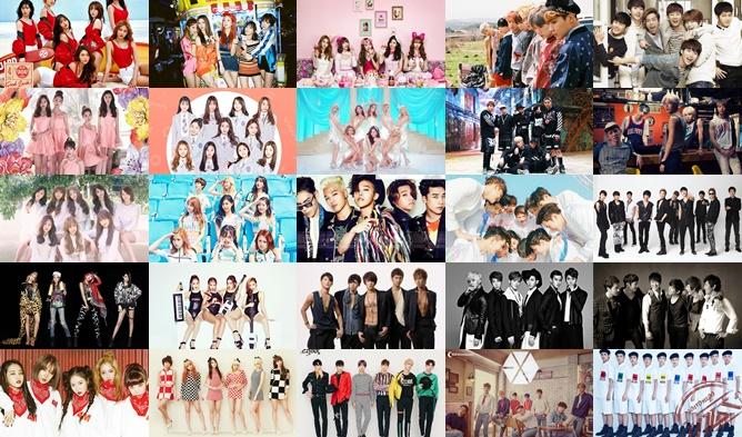 Znalezione obrazy dla zapytania kpop groups