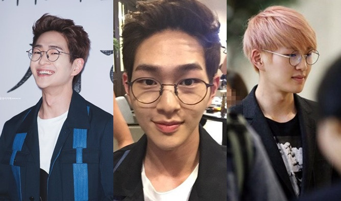 kpop, kpop male idols, kpop idols, kpop glasses, kpop idols glasses, kpop harry potter, kpop harry potter glasses, kpop round glasses, shinee glasses, shinee onew, onew glasses