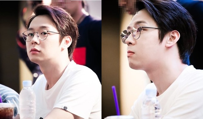 kpop, kpop male idols, kpop idols, kpop glasses, kpop idols glasses, kpop harry potter, kpop harry potter glasses, kpop round glasses, jyj glasses, yoochun glasses, jyj yoochun